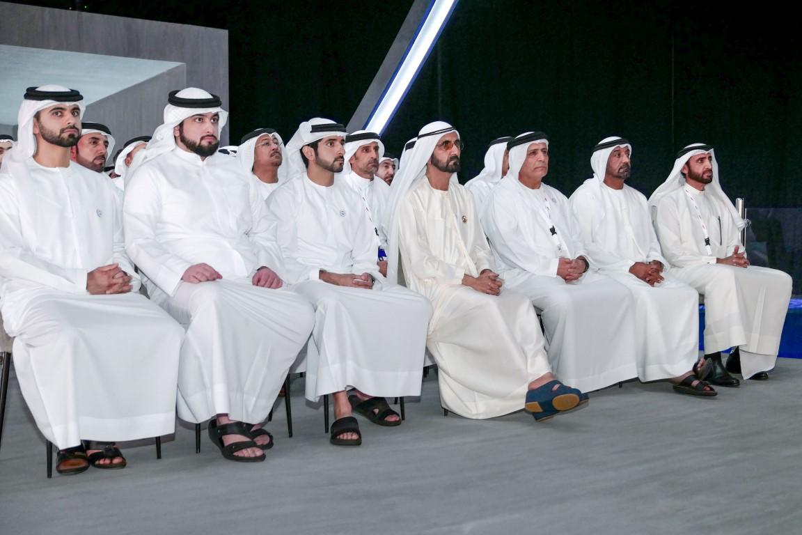 محمد بن راشد يدشن مشروع المعبر السادس على خور دبي بتكلفة 394  مليون درهم .  /Medium/ /2/