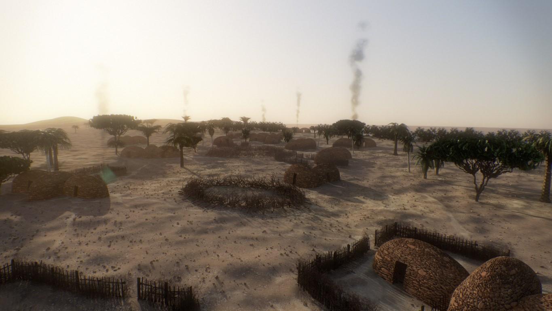 اكتشاف أقدم قرية في الامارات بجزيرة مروح. /Medium/ /2/