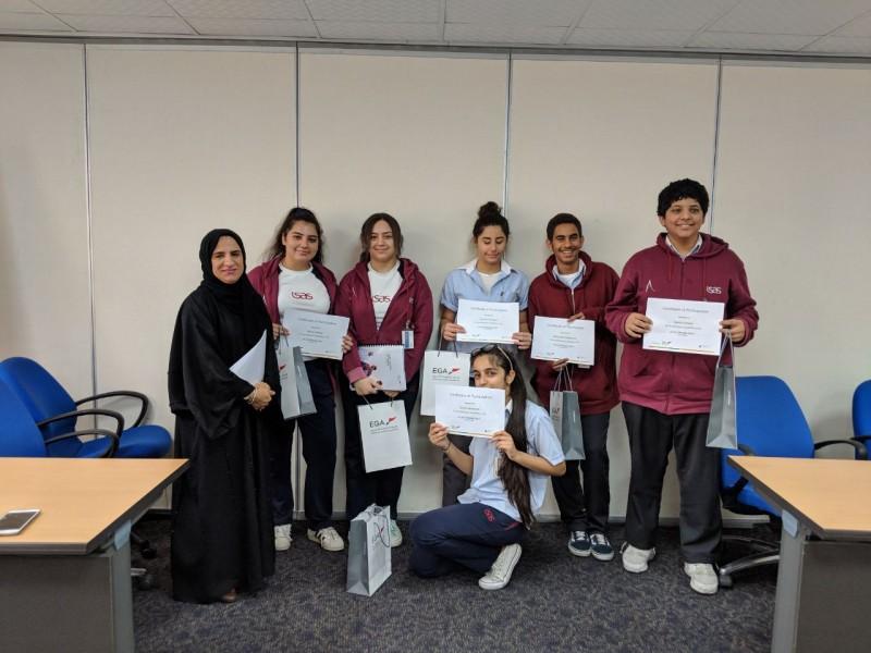 Emirates News Agency - EGA volunteers, Injaz UAE help 200