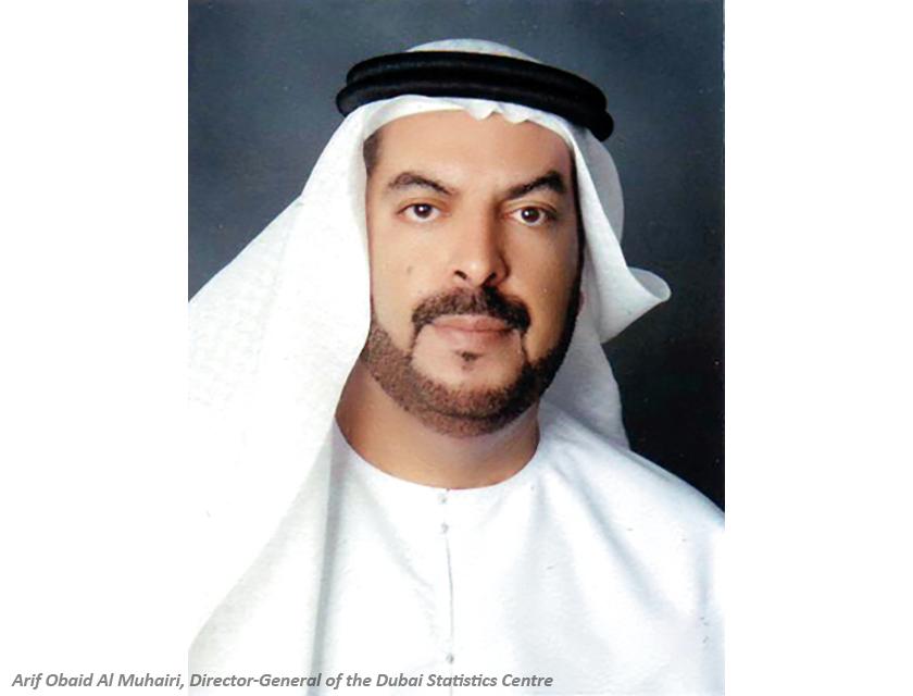 arif obaid al muhairi, director-general of the dubai statistics centre