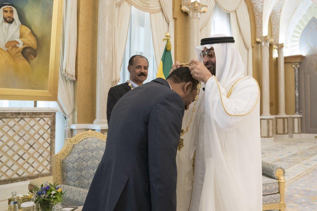 uae president awards order of zayed to eritrean president, ethiopian prime minister1