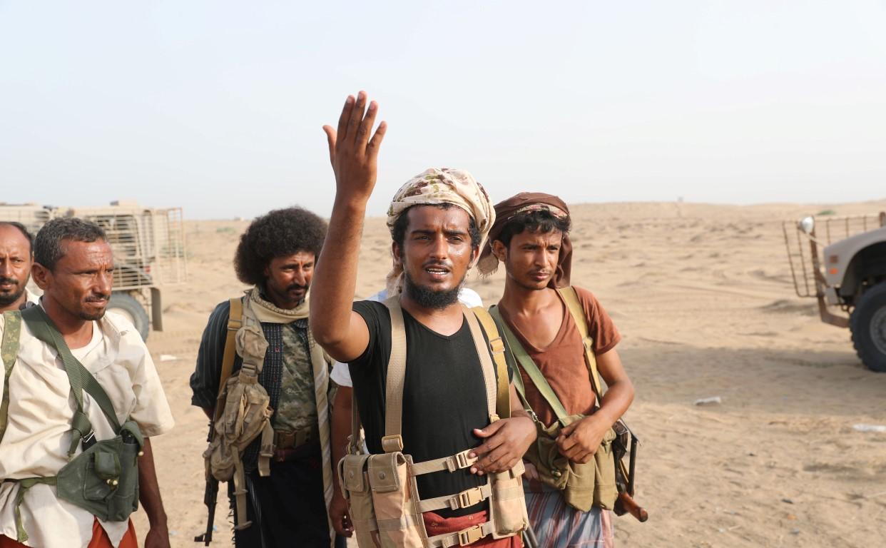 Yemeni resistance fighter - Al Durayhami /Medium/