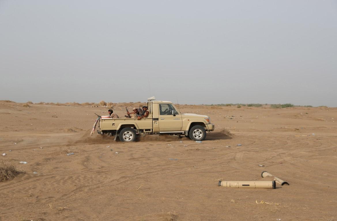 Yemeni resistance soldiers - Al Durayhami /Medium/