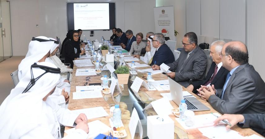 اللجنة التوجيهية المشتركة لإعادة إعمار الجامع النوري ومنارته الحدباء تعقد اجتماعها الأول في أبوظبي 1