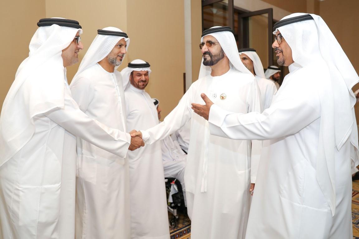 محمد بن راشد يلتقي أعضاء منتخب الإمارات لأصحاب الهمم KHE /Medium/ 3