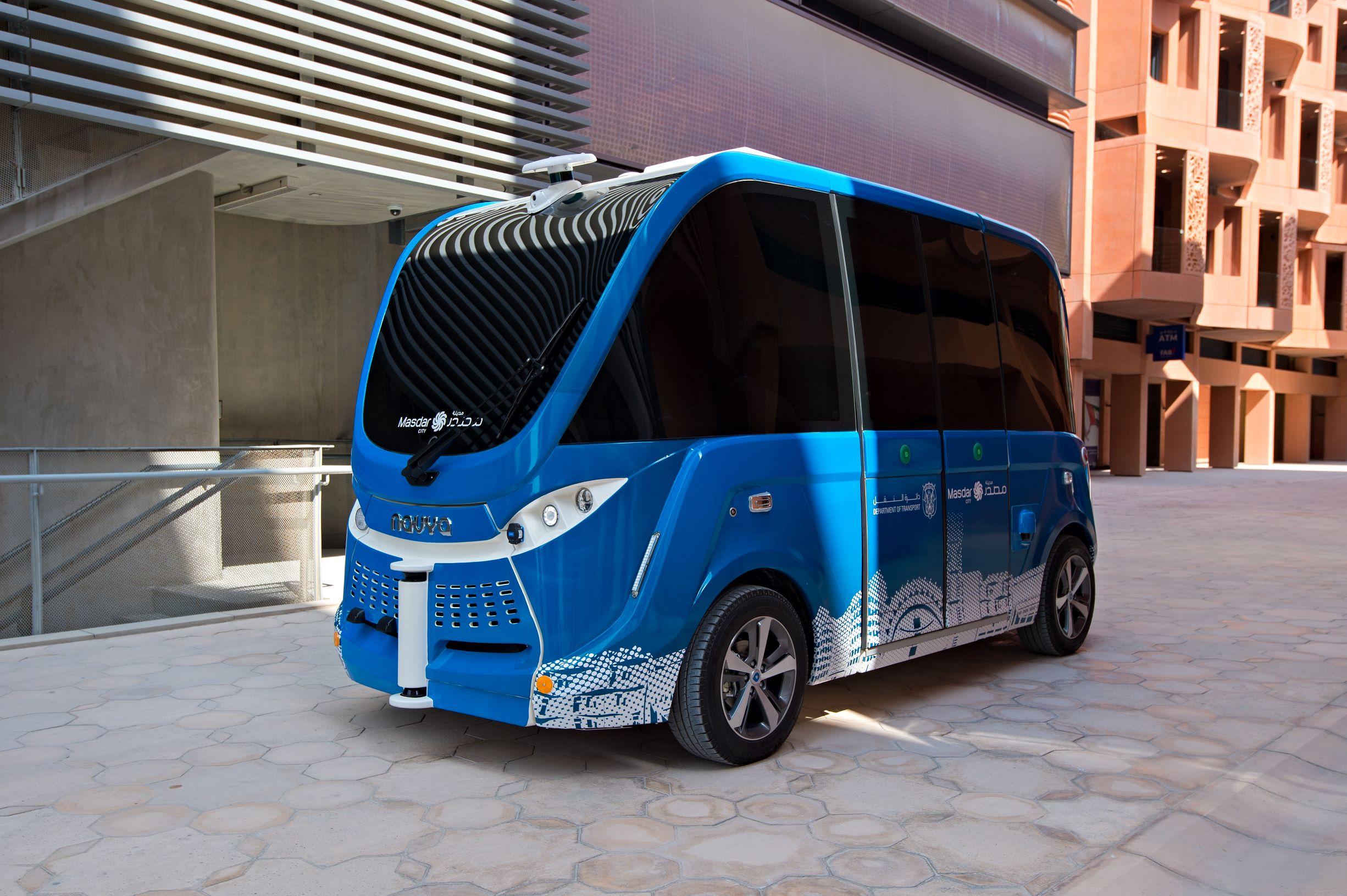masdar navya- autonomous vehicle launch (2)