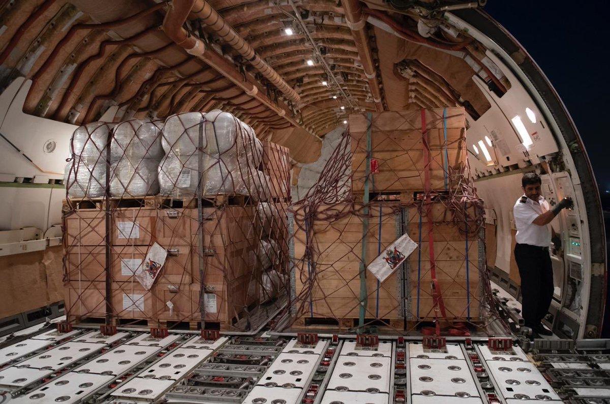 mohammed bin rashid orders emergency airlift to help victims of flooding in jordan 1