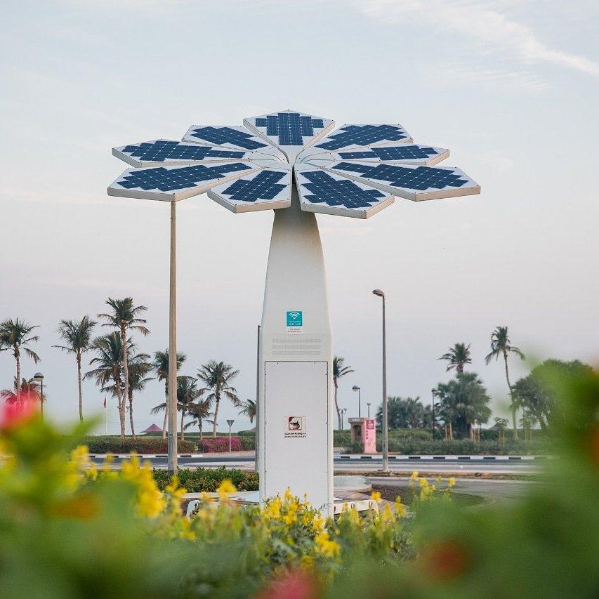 dubai municipality redevelops mamzar park to become world's first smart park