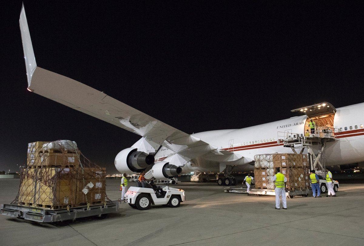 mohammed bin rashid orders emergency airlift to help victims of flooding in jordan 2