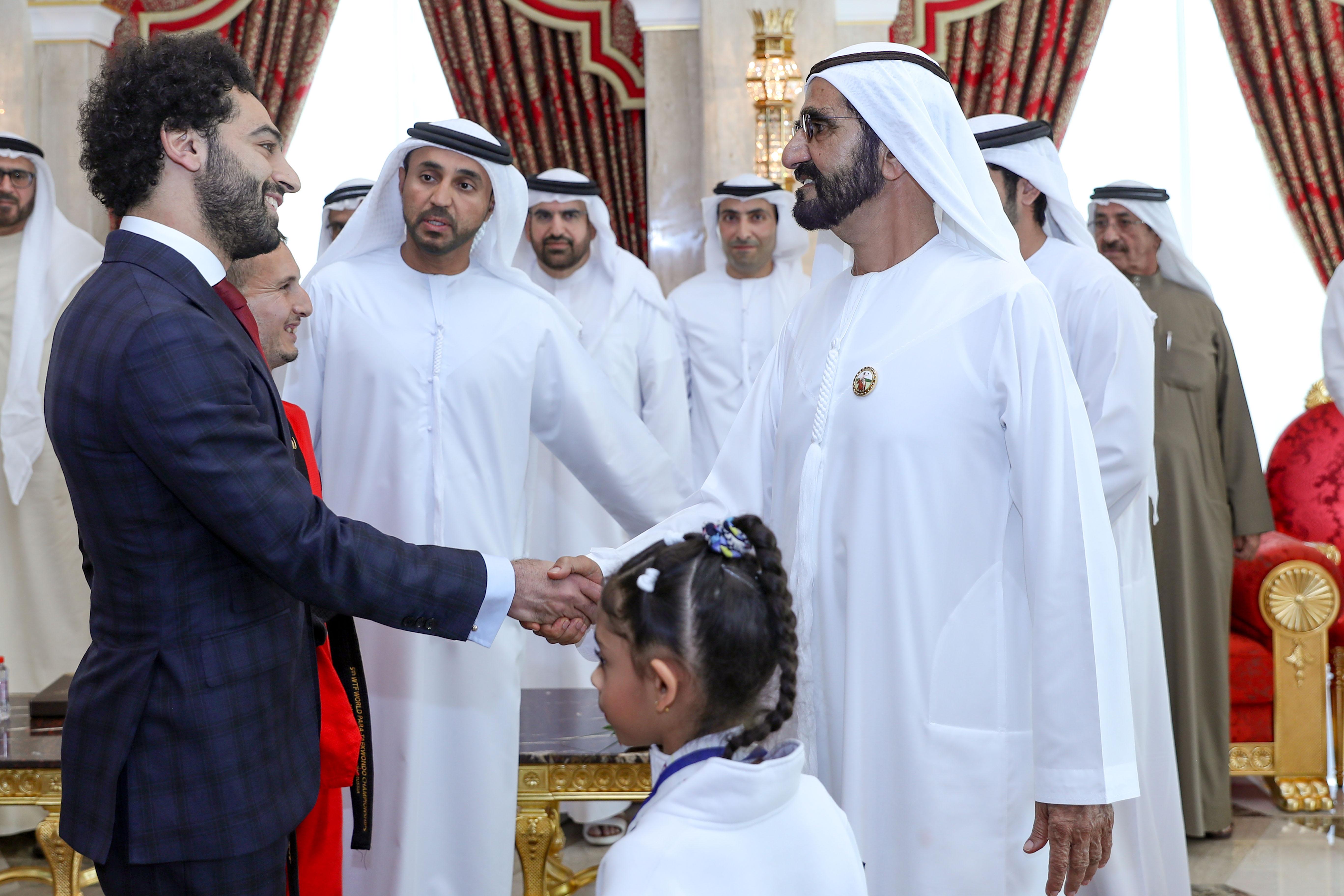 Emirates News Agency Vp Receives Winners Of Mohammed Bin Rashid Al Maktoum Award For Sports Innovation