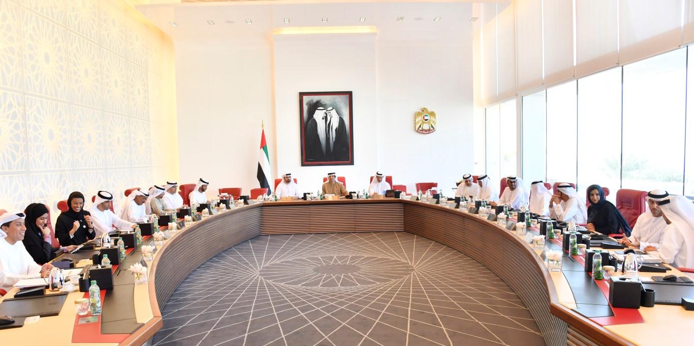 منصور بن زايد يراس اجتماع المجلس الوزاري للتنمية-3 (medium).jpg