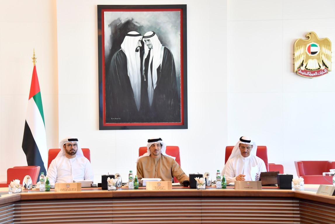 منصور بن زايد يراس اجتماع المجلس الوزاري للتنمية-5 (medium).jpg