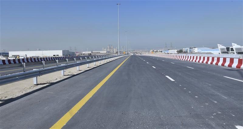 rta opens main bridge at intersection of expo road, al asayel street 2