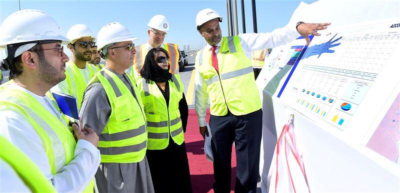 rta opens main bridge at intersection of expo road, al asayel street 1