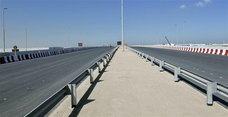 rta opens main bridge at intersection of expo road, al asayel street 3