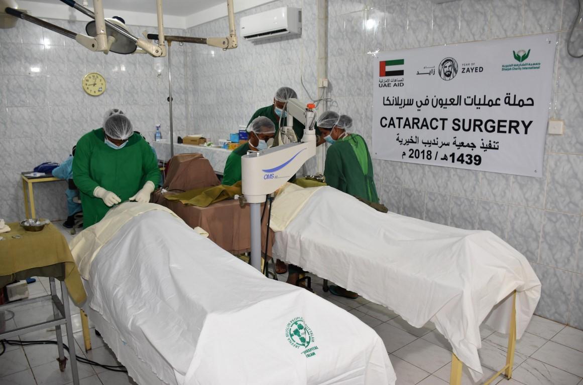 """""""الشارقة الخيرية"""" تجري 1500 عمليات عيون بالخارج خلال 2018"""