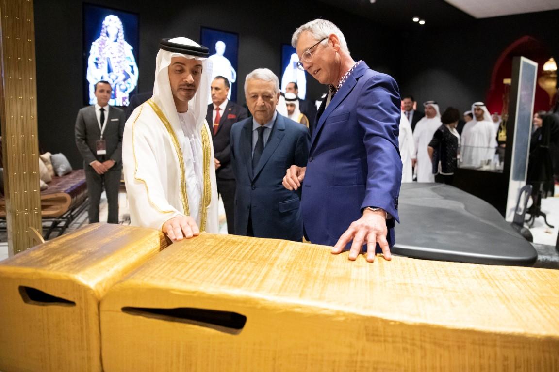 """بترحيب خليفة بن زايد ورعاية محمد السادس هزاع بن زايد يفتتح فعالية """"المغرب في أبوظبي"""""""