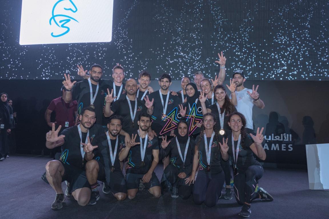 """بقيادة حمدان بن محمد فريق """"اف ثري"""" يحصد لقب الألعاب الحكومية للمرة الثانية"""