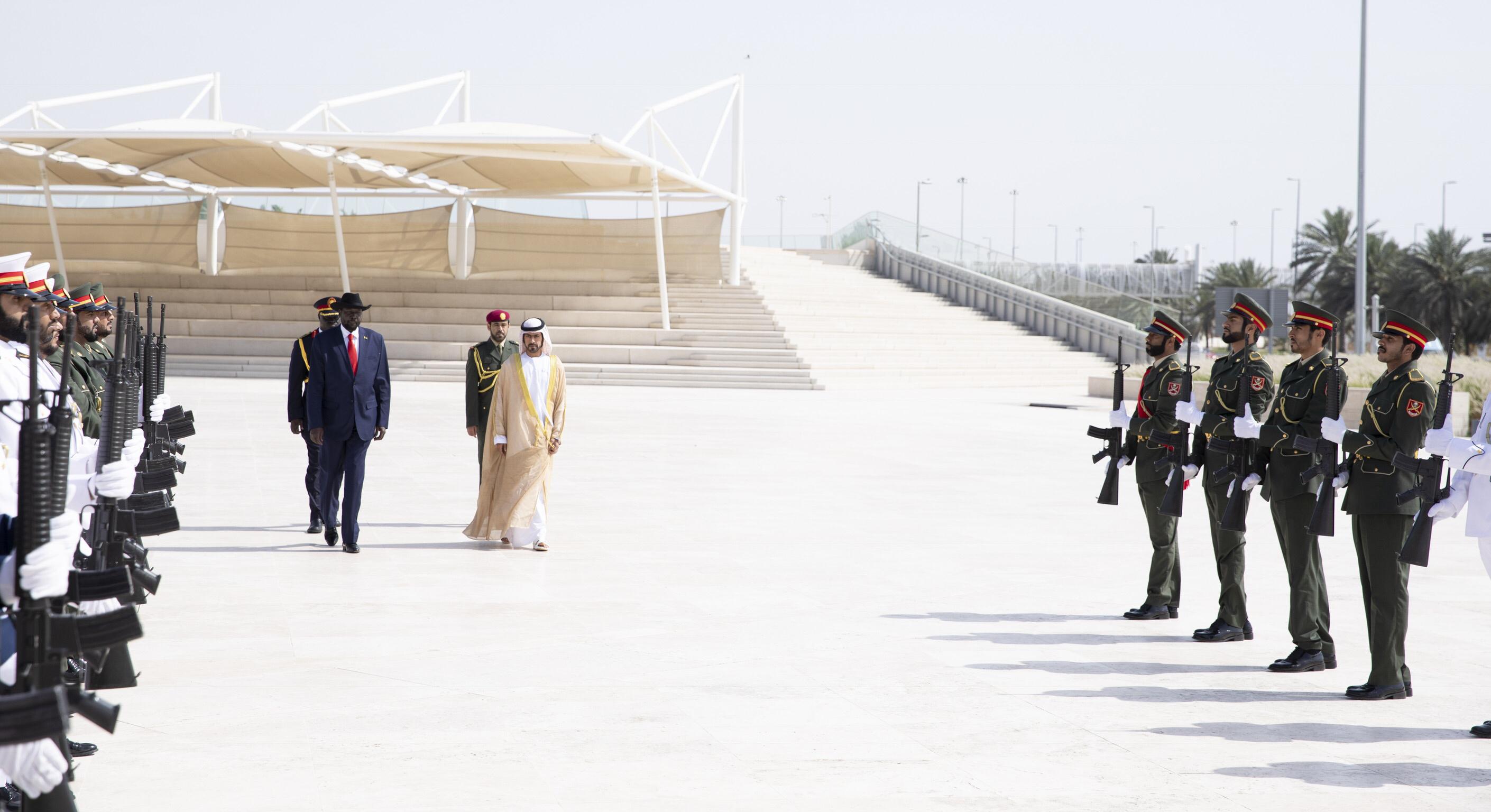 رئيس جنوب السودان يزور واحة الكرامة