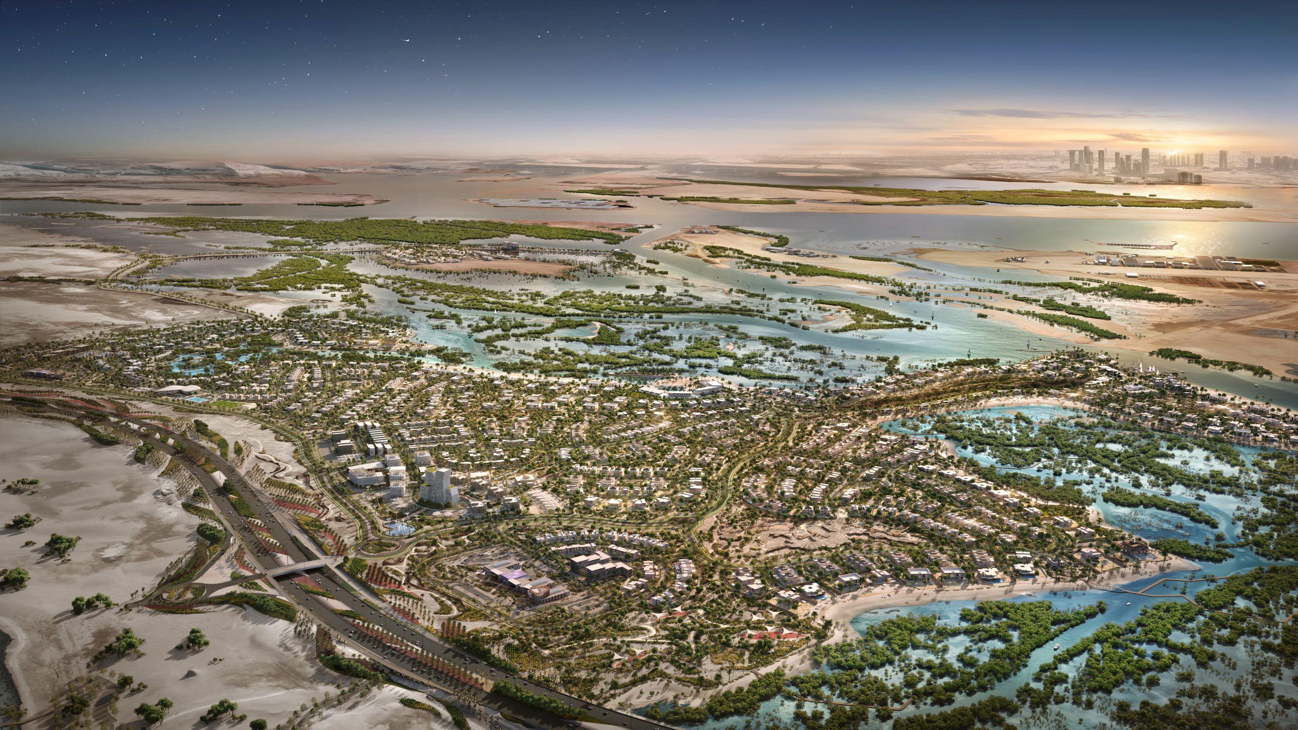 aed5 billion jubail island launched in abu dhabi  2