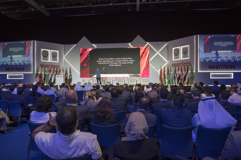 سيف بن زايد يفتتح مؤتمر ومعرض تكنولوجيات الاقتصاد الرقمي