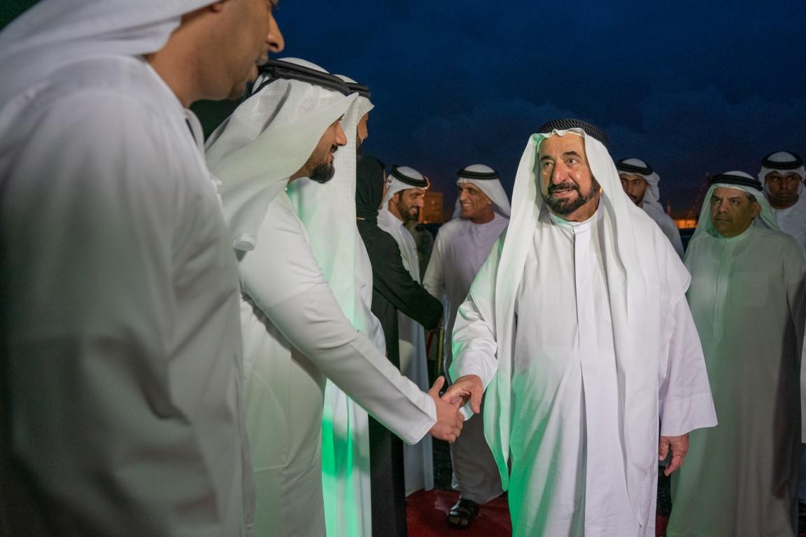 حاكما الشارقة ورأس الخيمة يشهدان العرض الأول لفيلم