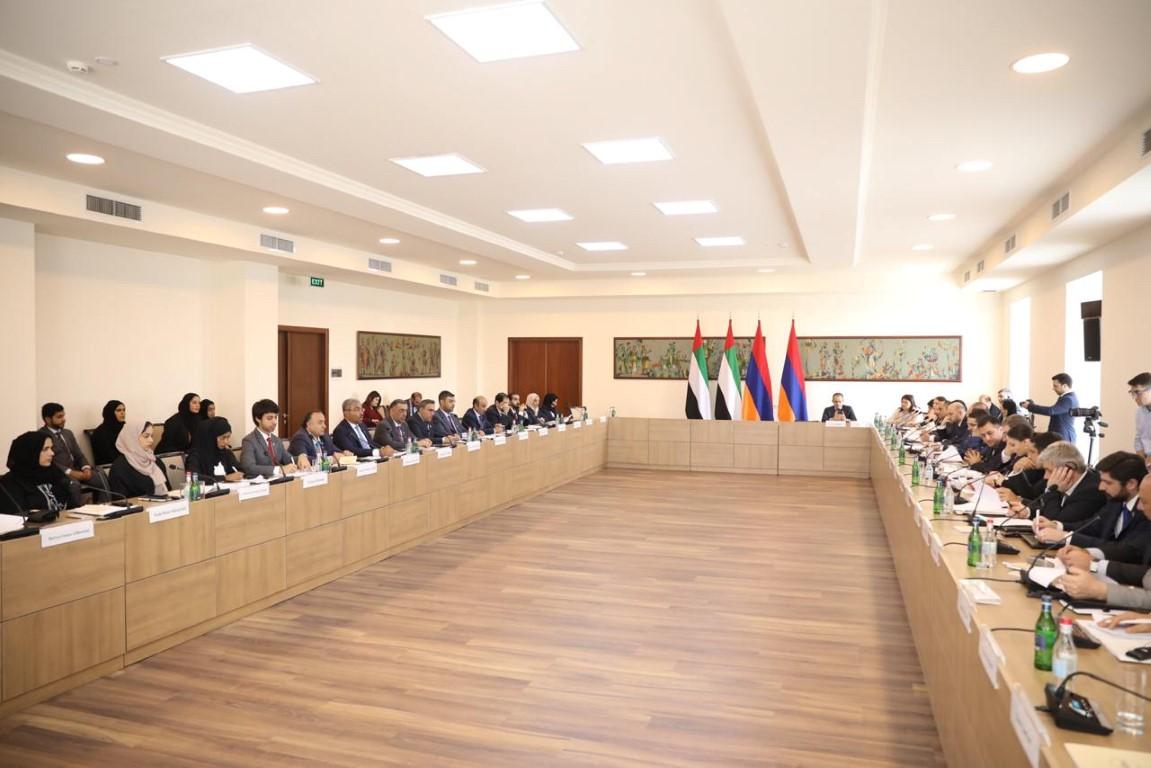 يريفان تستضيف الاجتماع الأول للجنة الإماراتية الأرمينية المشتركة