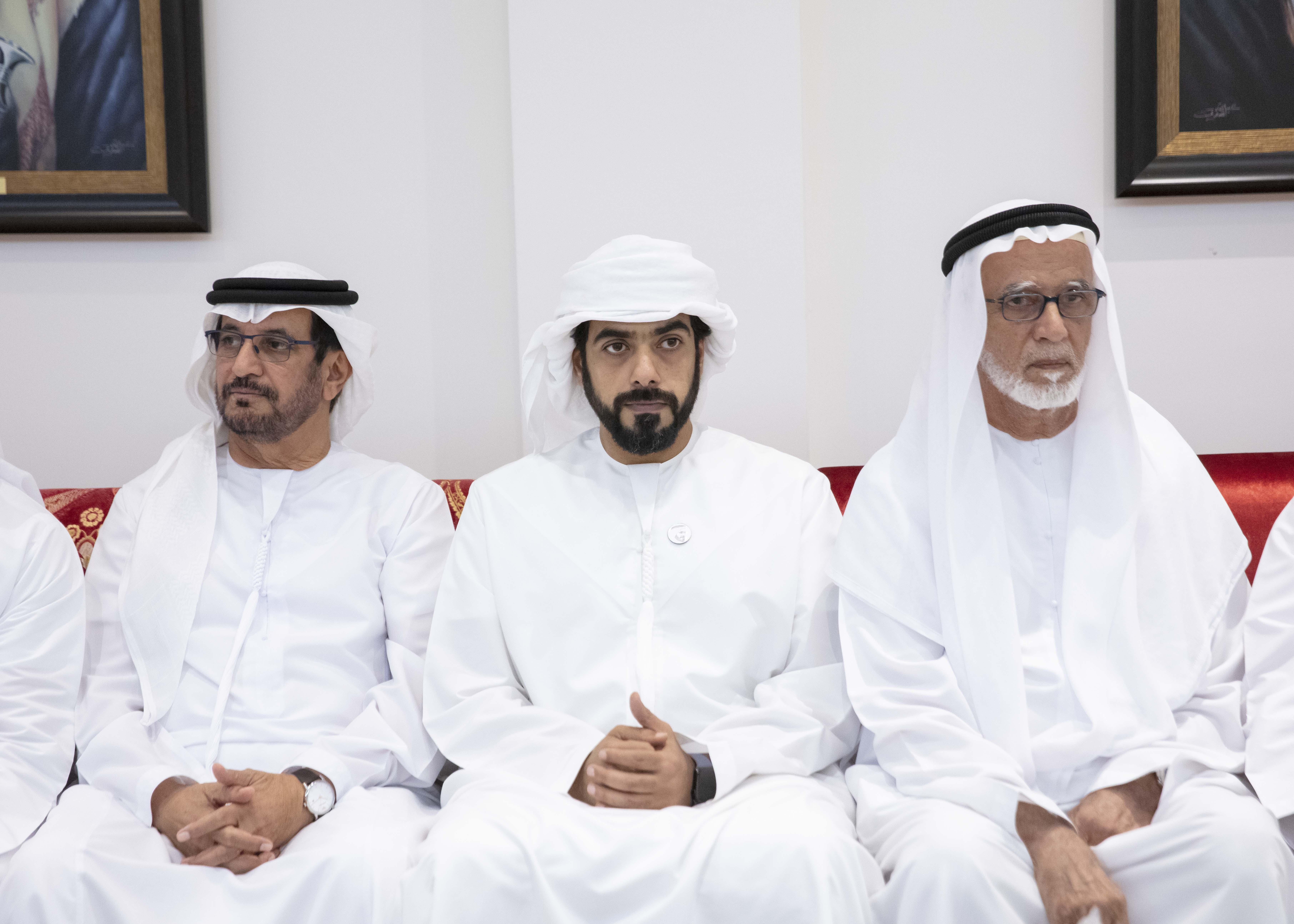 طحنون بن محمد يعزي محمد علي الشامسي في وفاة نجله