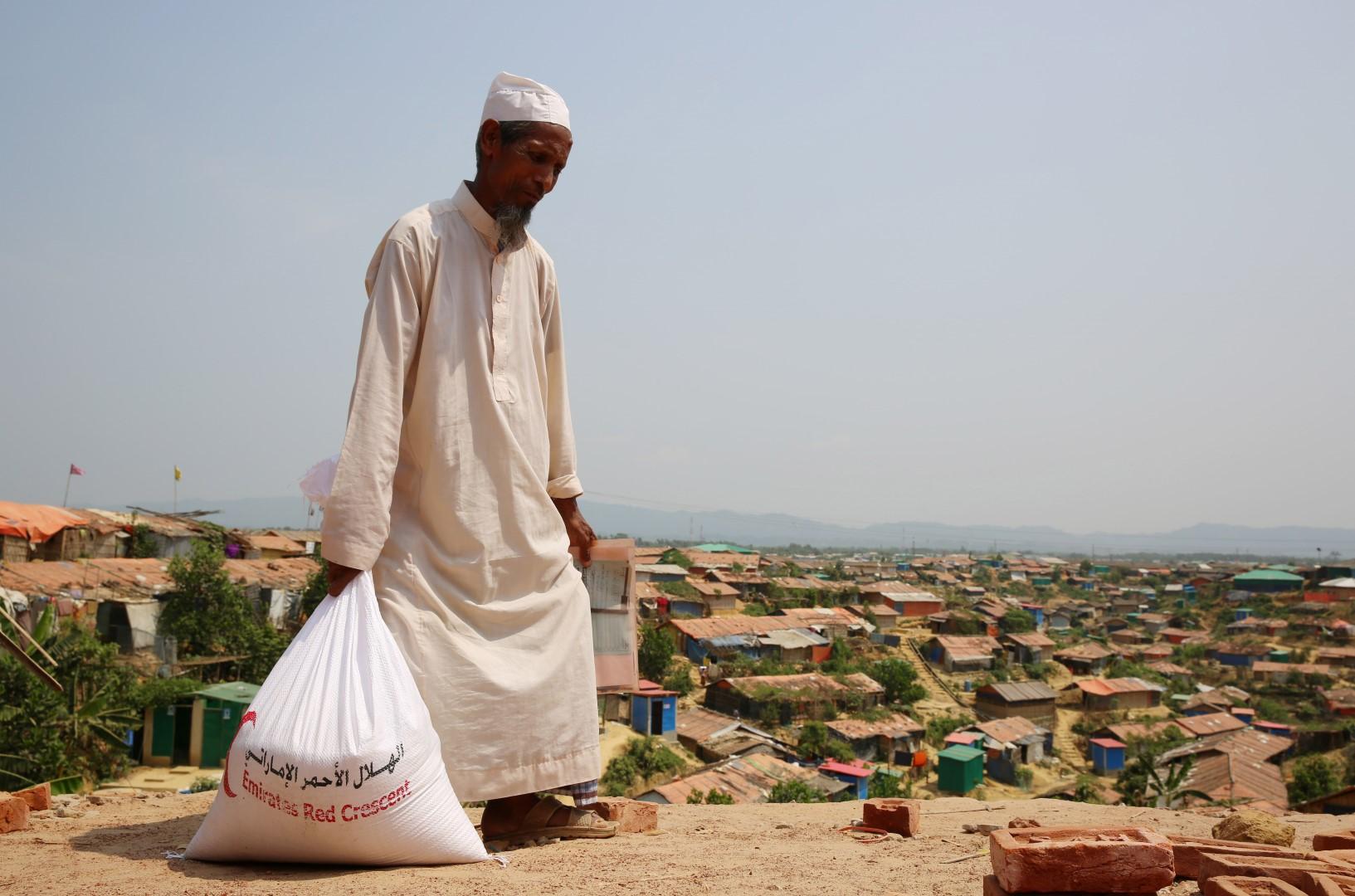 الإمارات.. دور دولي فاعل في التخفيف من معاناة لاجئي الروهينجا