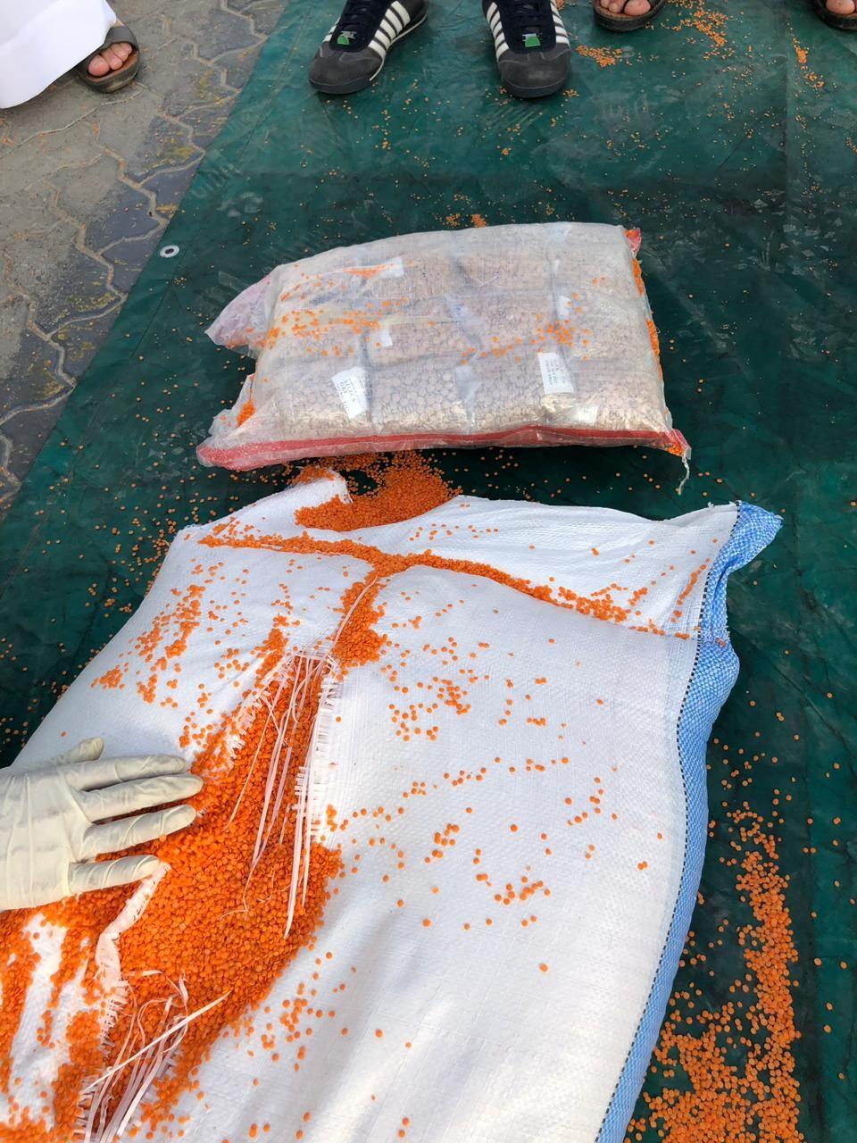 dubai customs seizes 5.7 million captagon pills  2