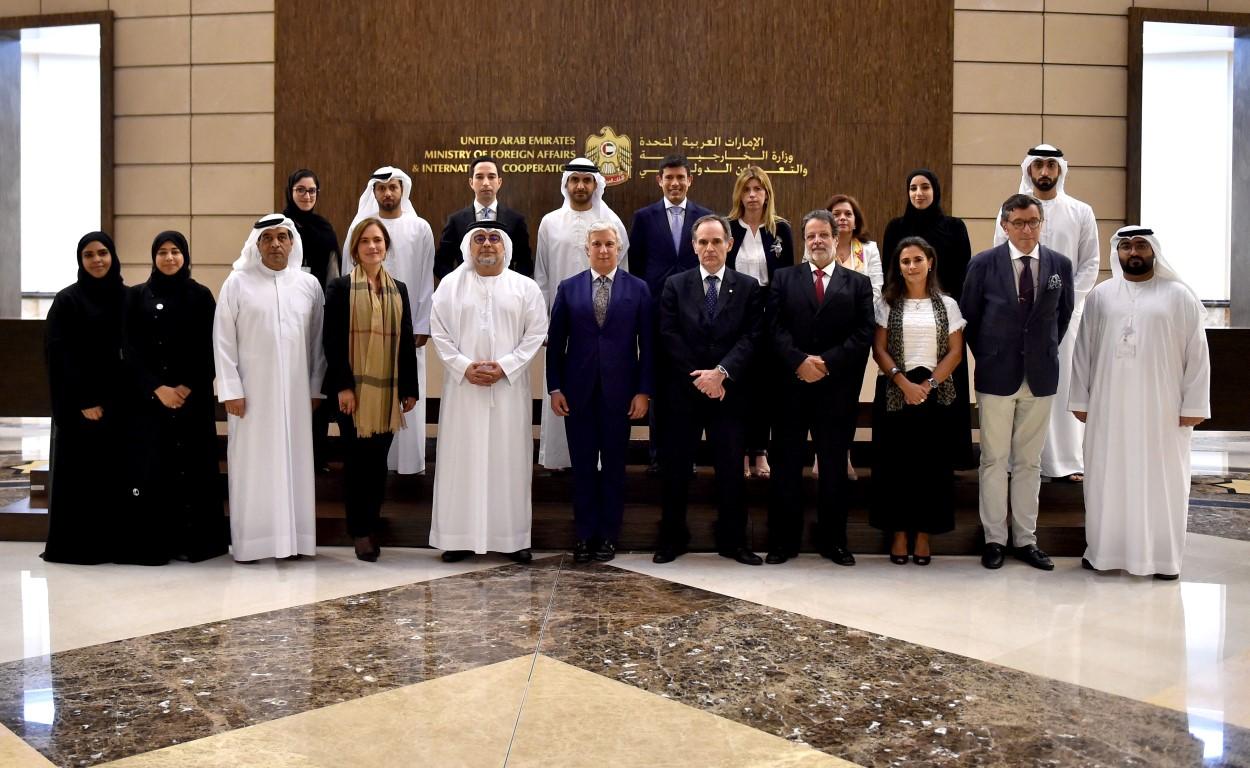 اللجنة المشتركة بين الإمارات والبرتغال تعقد اجتماعها في أبوظبي
