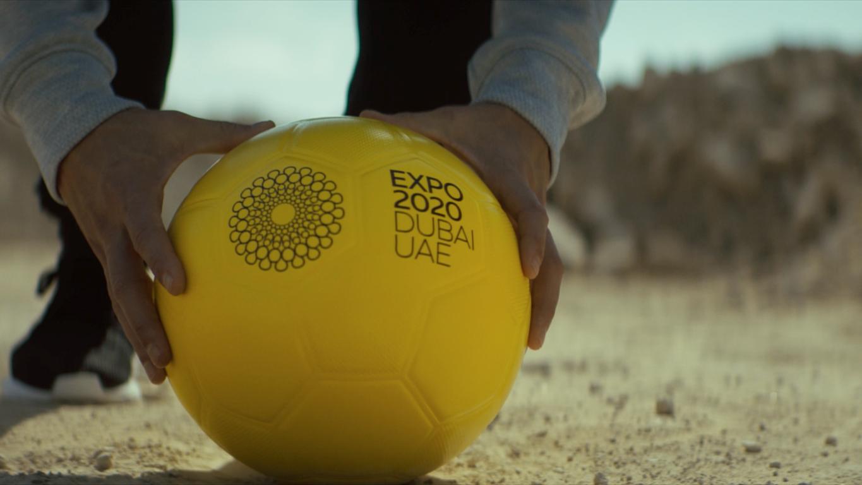 """ليونيل ميسي و""""إكسبو 2020"""" يرسلان رسالة للعالم من أجل التعاون والاتحاد"""