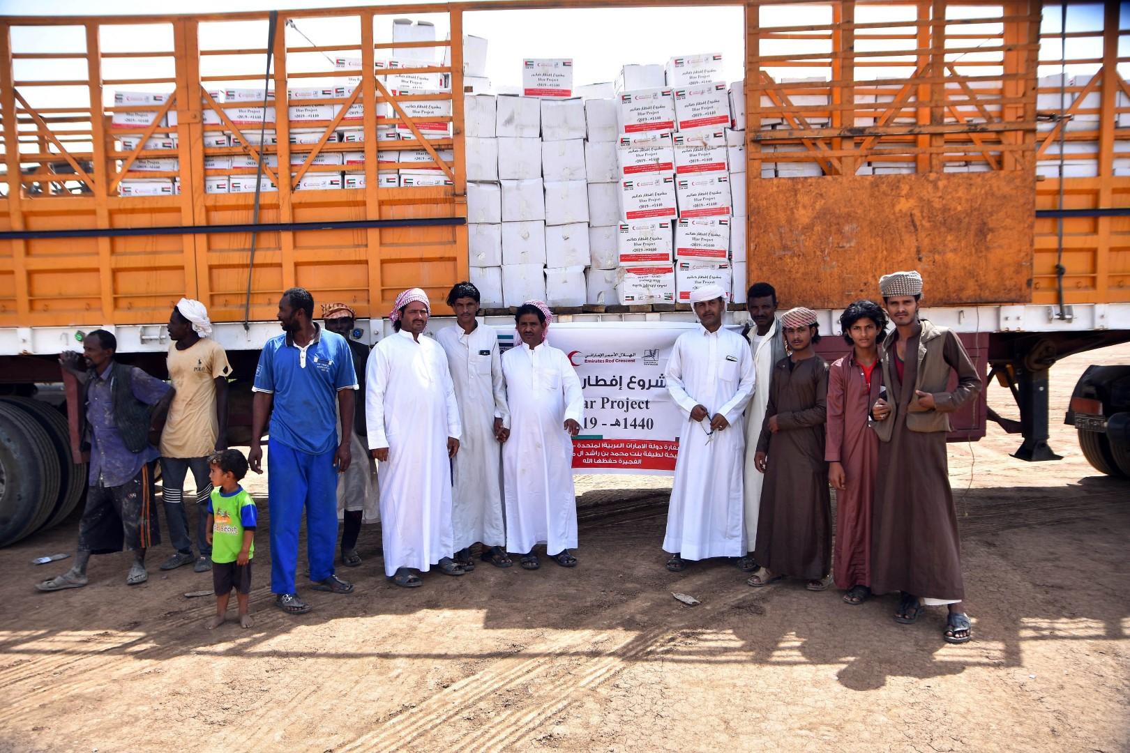 20 ألف مستفيد من المساعدات المقدمة من حرم ولي عهد الفجيرة في السودان