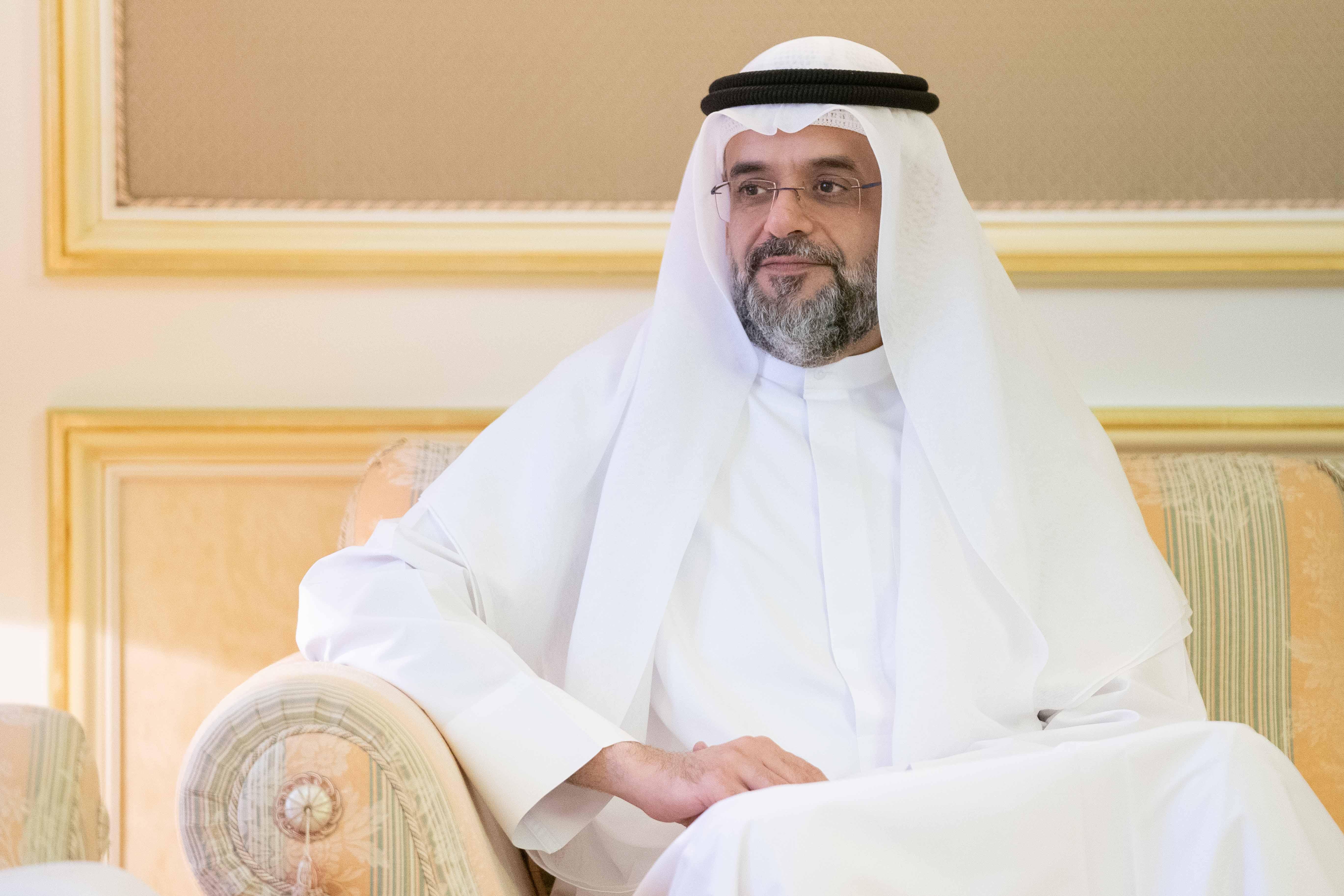 سلطان بن محمد بن سلطان القاسمي يستقبل لجنة إمارة الشارقة لانتخابات