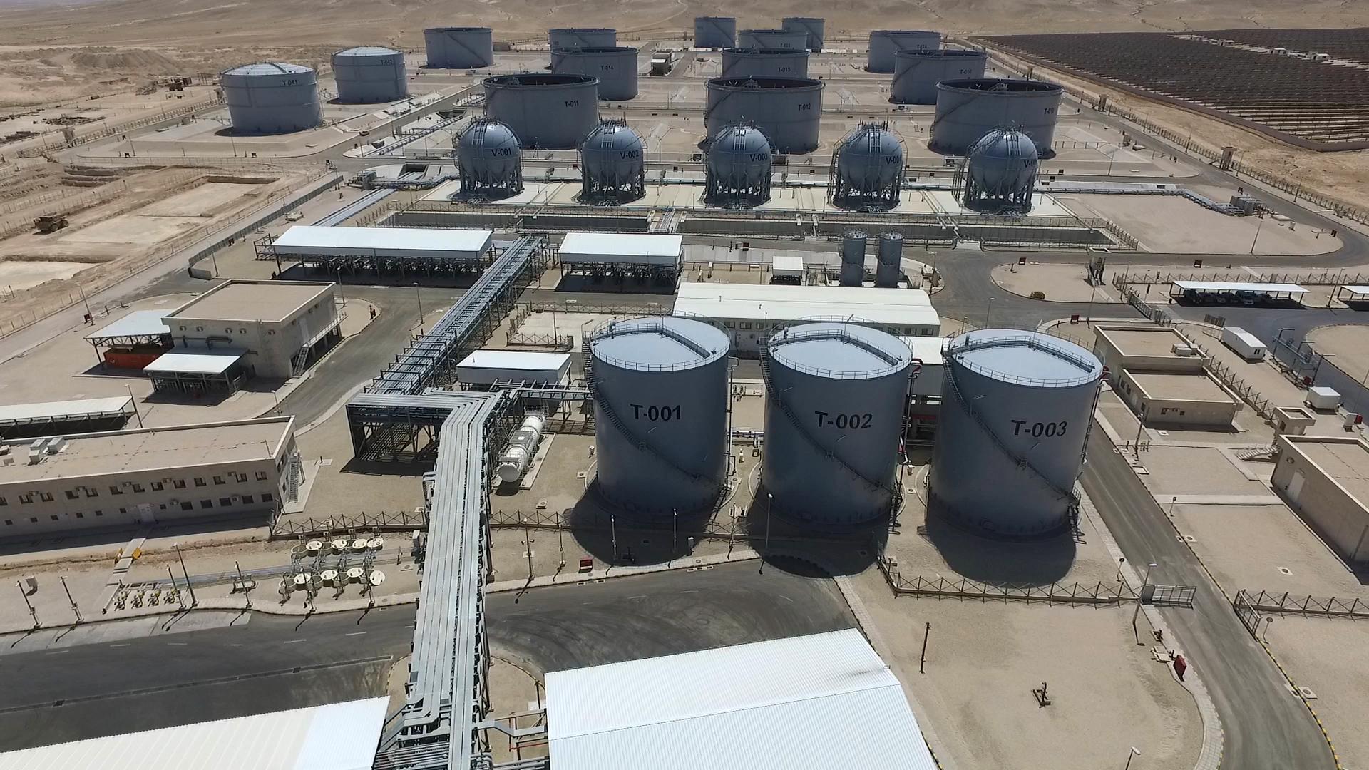 تدشين مشروع بناء السعات التخزينية للمشتقات النفطية في الأردن بتمويل من الإمارات