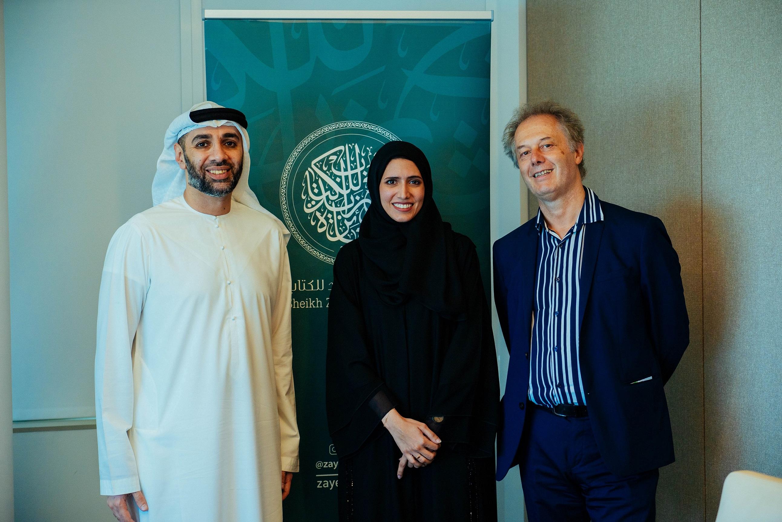 sheikh zayed book award to translate 'the dinoraf' into three languages 1