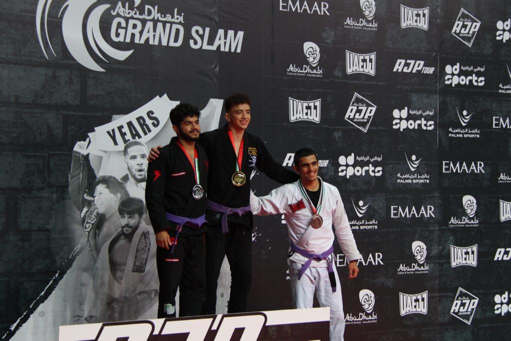 48 ميدالية ملونة للإمارات في بطولة أبوظبي جراند سلام للجوجيتسو