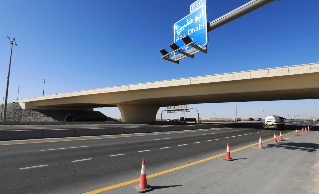 """دائرة النقل و""""مساندة"""" تفتتحان جسر """"إيكاد"""" بتكلفة 60 مليون درهم"""