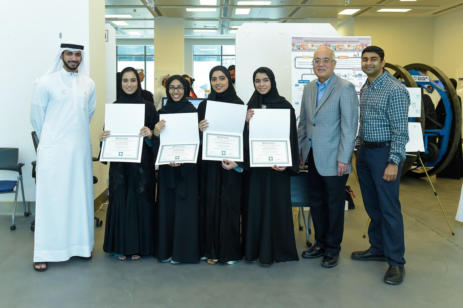 طلبة جامعة خليفة يطورون أنظمة رقمية لتسهيل سير العمليات في مؤسستين في أبوظبي