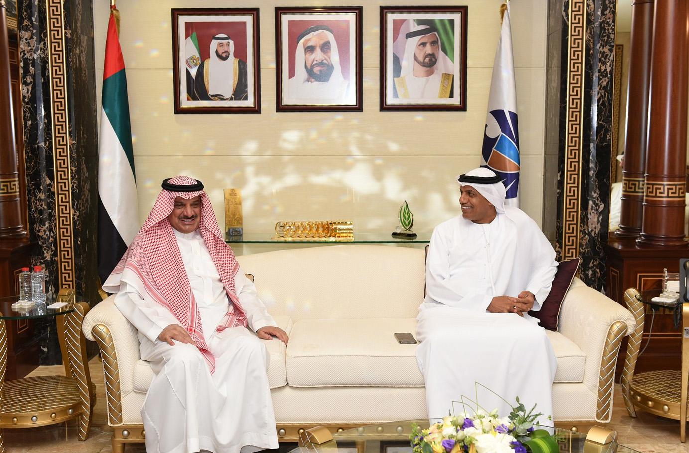 جمارك دبي تبحث فرص تعزيز التبادل التجاري مع السعودية
