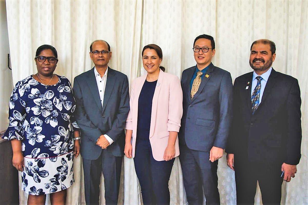 uae discusses food security agribusiness corridor with suriname, caribbean countries 3