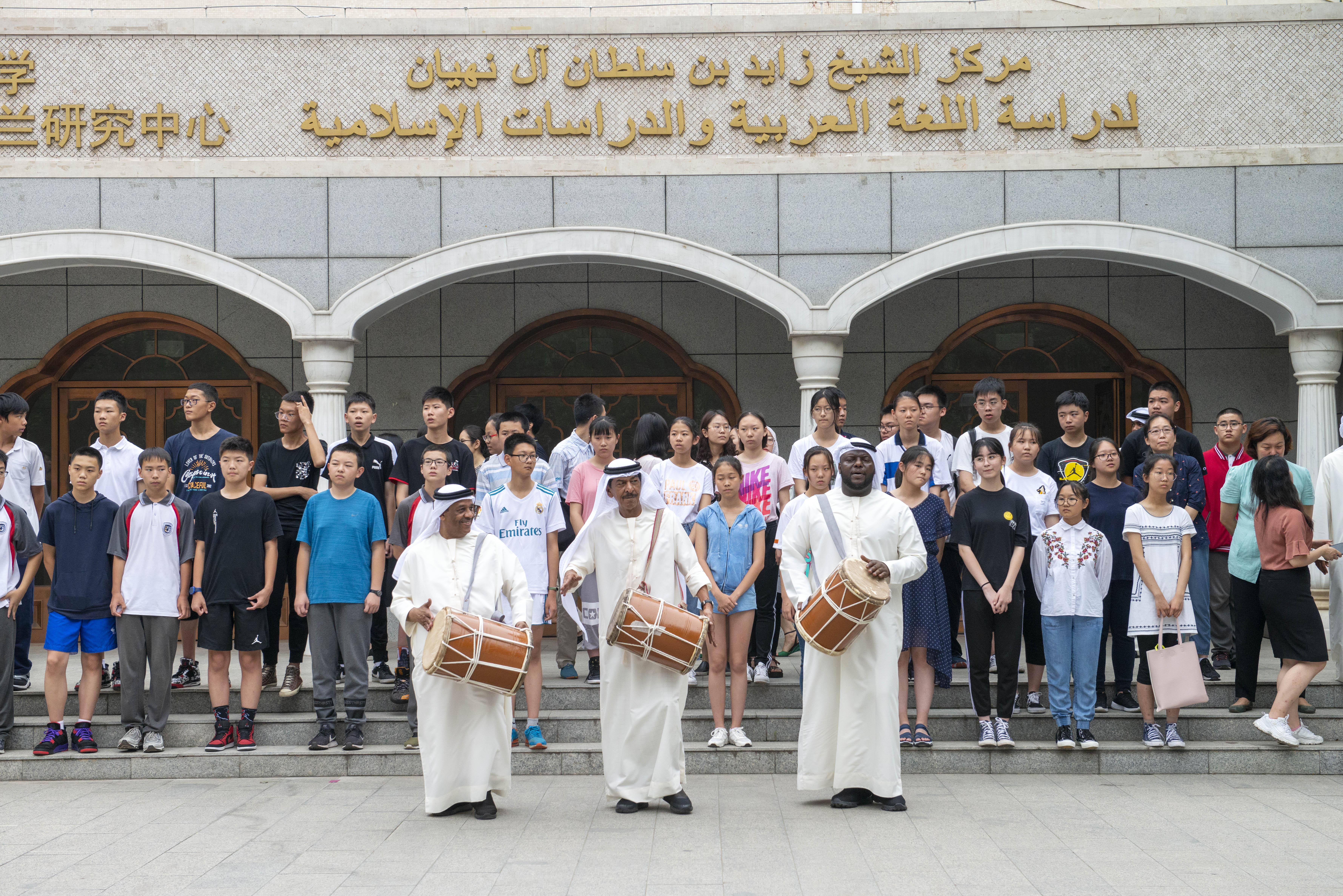 مركز الشيخ زايد للغة العربية .. منارة علم عربية على أرض صينية