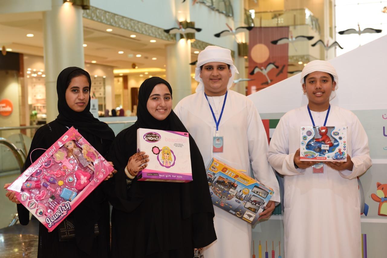 """أعضاء """"استشاري الأطفال"""" يشاركون في مبادرة جمع الألعاب لـ """" أطفال اليمن """""""