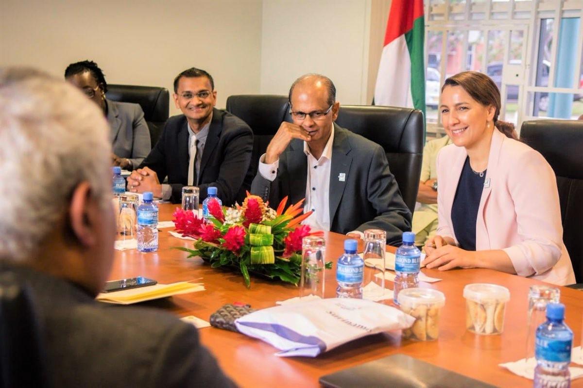 uae discusses food security agribusiness corridor with suriname, caribbean countries 1