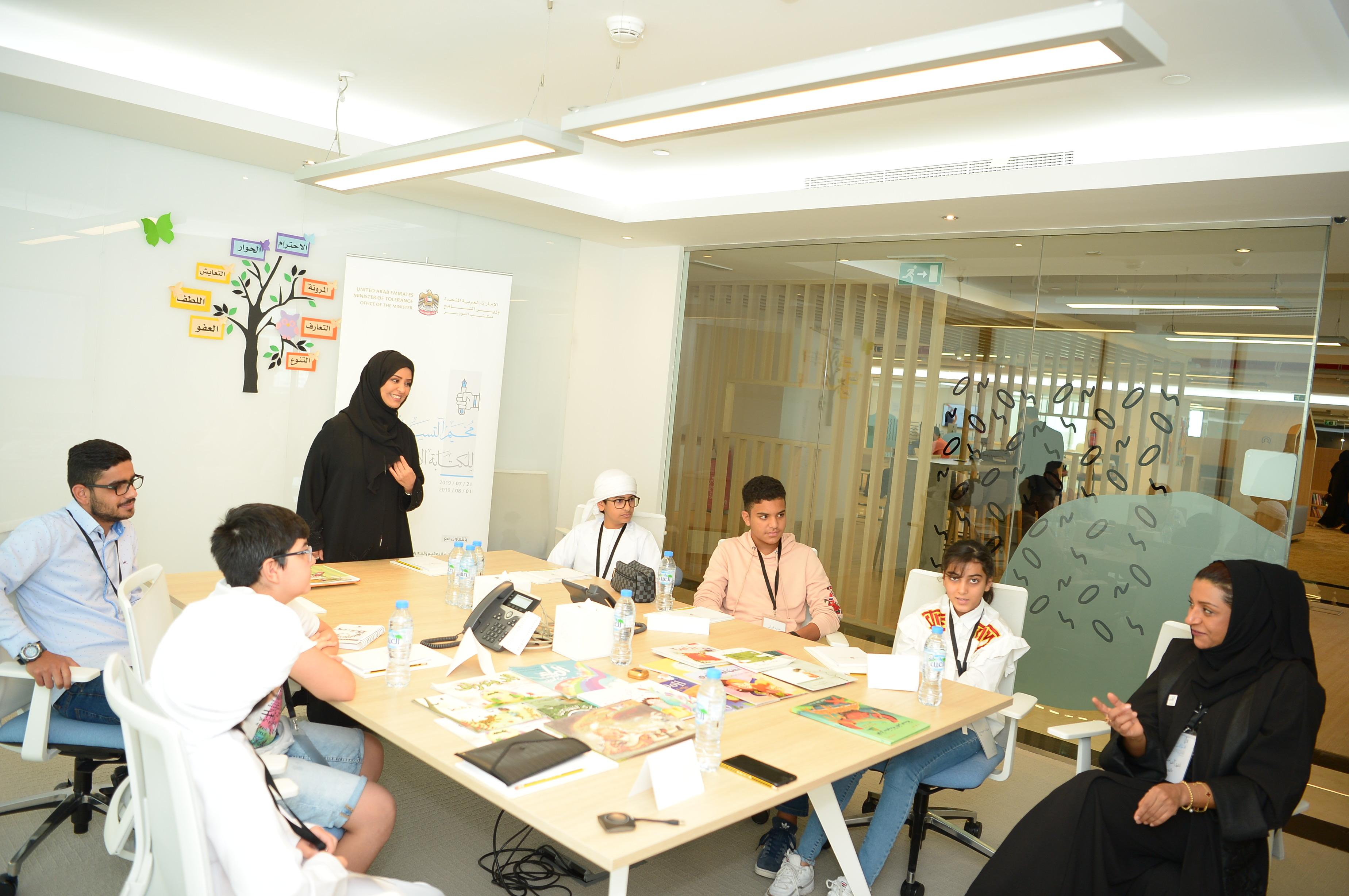 """إطلاق """"مخيم التسامح للكتابة الإبداعية"""" لطلاب المدارس بأبو ظبي"""