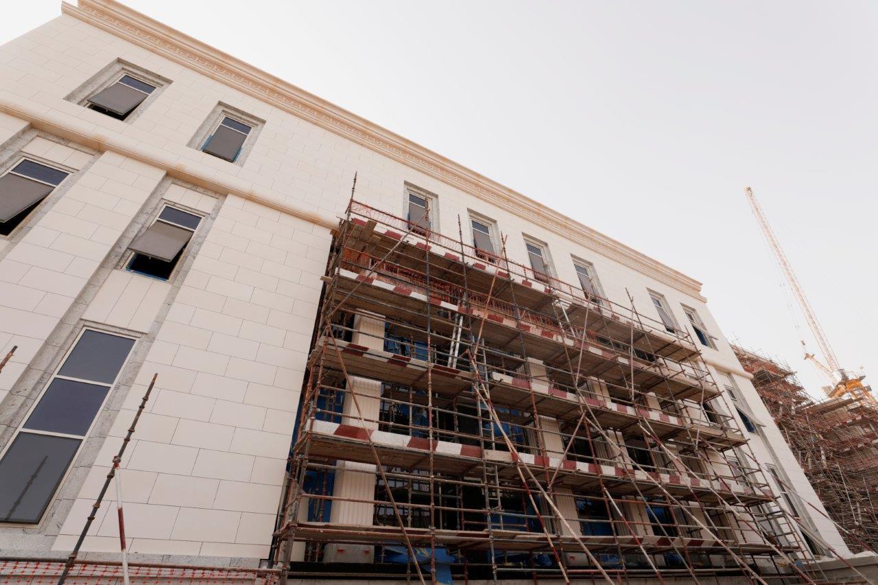"""""""مساندة"""" تنجز 85% من مشروع مبنى المحكمة الاتحادية العليا"""