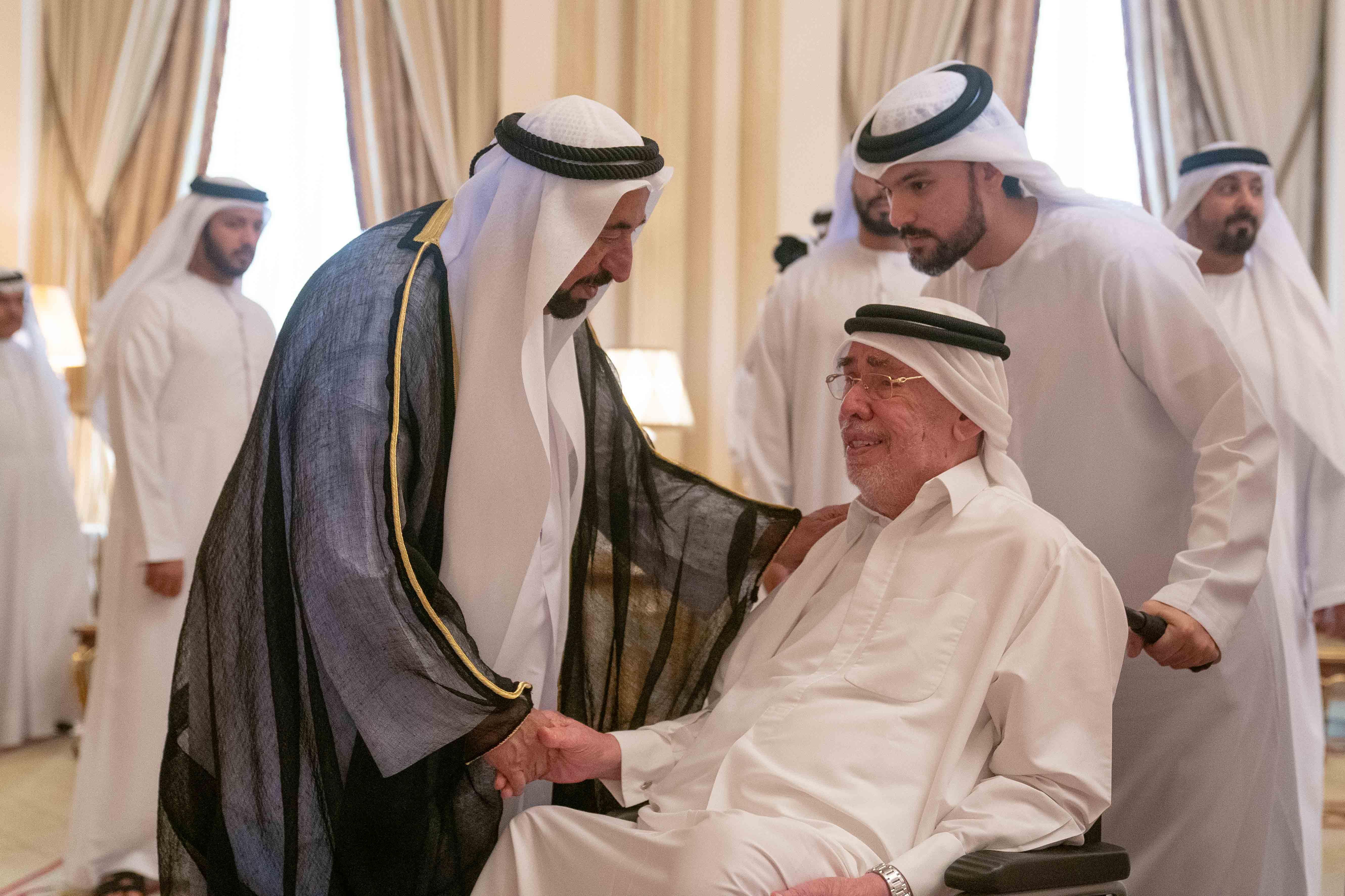 Emirates News Agency - Sharjah Ruler receives condolences on death