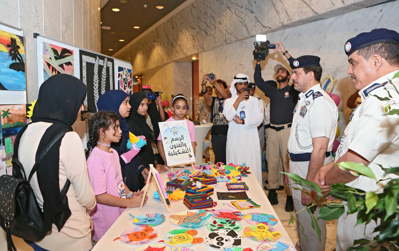 شرطة أبوظبي تختتم البرنامج الصيفي لأصدقاء الشرطة