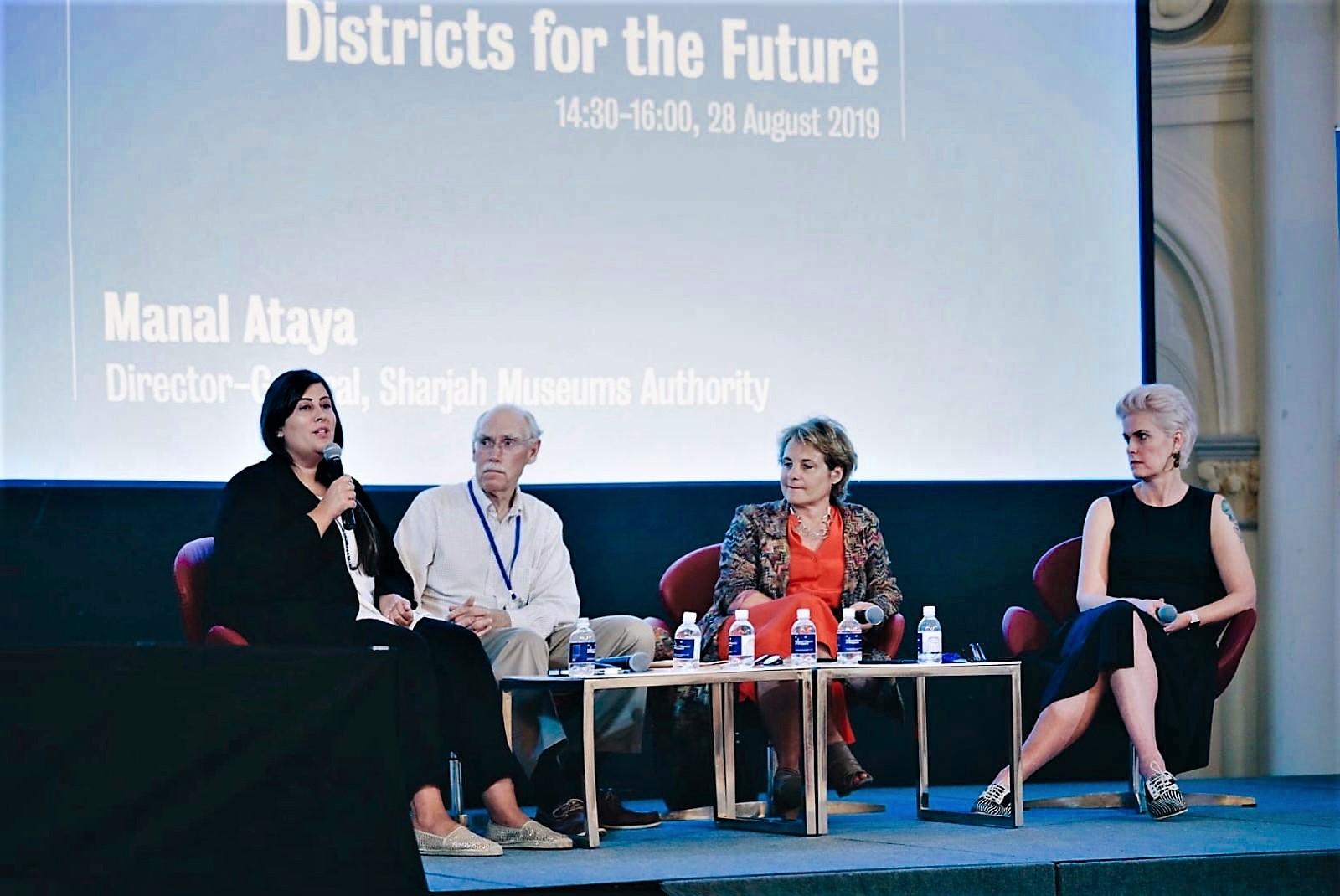 sharjah's flourishing art scene presented to singapore 2