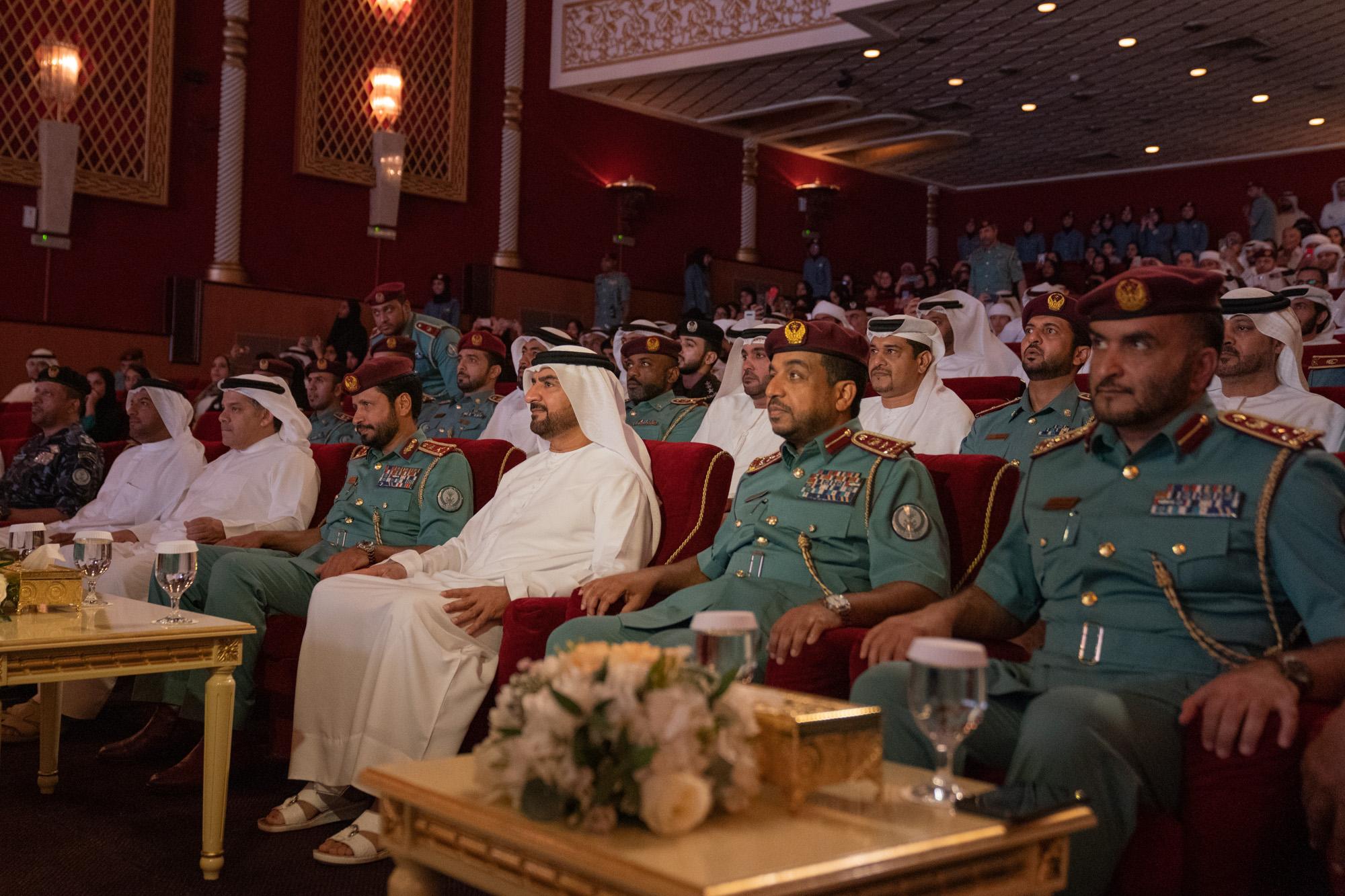 عبدالله بن سالم القاسمي يشهد تخريج الدورة الصيفية الـ 32 لأصدقاء الشرطة